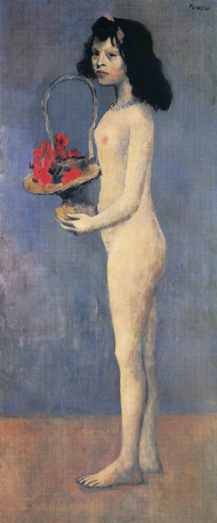 Young-Girl-Flower-Picasso